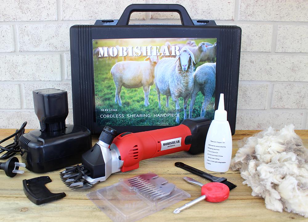 cordless shearing hand piece kit
